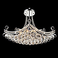Pendant Light ,  Modern/Contemporary Electroplated Feature for Crystal Metal Living Room Bedroom Dining Room