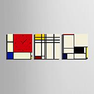 moderni tyyli luonnonkaunis seinäkello kankaalle 3kpl k0152
