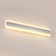 AC 100-240 24W Integrert LED Moderne/ Samtidig Sølv Trekk for LED / Mini Stil / Pære inkludert,Atmosfærelys Baderomslys Wall Lys