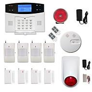 433MHz Mensagem Celular 433MHz GSM Telefone Alarme por telefone Alarme SMS Alarme de som Alarme Local Alarme de E-mailHome Sistemas de