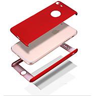 Kompatibilitás iPhone 8 iPhone 8 Plus tokok Ütésálló Other Teljes védelem Case Tömör szín Kemény PC mert Apple iPhone 8 Plus iPhone 8