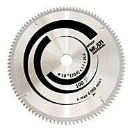 multifunkční slitina pilový kotouč (10 palců x 100 zubů (dřevo a hliník plast víceúčelový))