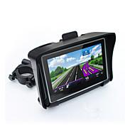 hot 4,3 vanntett IPX7 motorsykkel gps navigasjon moto navigator med FM bluetooth 8G flash prolech bil gps motorsykkel