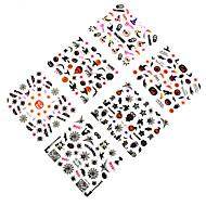 12pcs Nail Art matrica 3D-s körömmatricák smink Kozmetika Nail Art Design