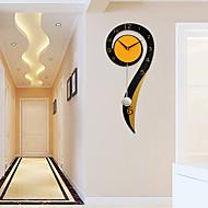 Moderno/Contemporâneo Casas Relógio de parede,Outros Madeira Metal Interior Relógio