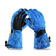 Luvas de esqui Luvas de Inverno Homens Luvas Esportivas Mantenha Quente / Anti-Derrapagem / Prova de Água / Prova de NeveEsqui / Acampar