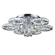 Unterputz ,  Zeitgenössisch Chrom Eigenschaft for Kristall LED Metall Wohnzimmer Schlafzimmer Esszimmer