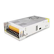 SPD-350W accessoires 12v30a de vidéosurveillance du système de caméra transformateur d'alimentation en métal - argent (AC 110-220V)