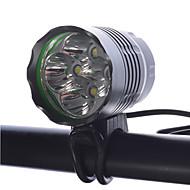 LED懐中電灯 ヘッドランプ 自転車用ライト LED Cree XM-L T6 サイクリング 調光可能 充電式 小型 スーパーライト 18650 4000 ルーメン バッテリー クールホワイトキャンプ/ハイキング/ケイビング 日常使用 サイクリング 釣り 旅行 多機能 登山