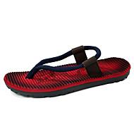 Αντρικό-Παντόφλες & flip-flops-Ύπαιθρος Καθημερινό-Επίπεδο ΤακούνιΜικροΐνα-Κόκκινο Μπλε