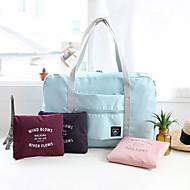 1枚 旅行かばん ハンドバッグ 防水 折り畳み式 多機能 のために 小物収納用バッグ ポリエステル-ピンク ダークレッド ライトブルー ダークネービー