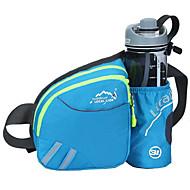 Belte Veske Belte med flaskeholder Brystveske til Klatring Reise Løp Camping & Fjellvandring Trening SportsveskeVanntett Regn-sikker