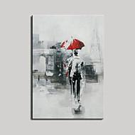 Ручная роспись Абстракция Люди Горизонтальная,Modern Европейский стиль 1 панель Hang-роспись маслом For Украшение дома