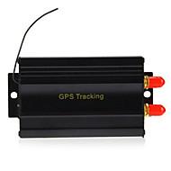 tk103b gps sms gprs kjøretøy tracker locator
