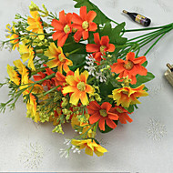 34.5cm Length High Quality and Bright Color 28 Heads per Bunch Little Daisy Artificial Flower