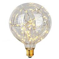 2W E26/E27 LED Filament Bulbs G95 47 Integrate LED 300 lm Warm White Decorative AC 220-240 V 1 pcs
