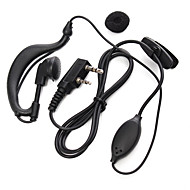 365 walkie talkie earphone transceiver mikrofon hendig talkie øreplugg universell for baofeng 365 Wanhua TYT HYT