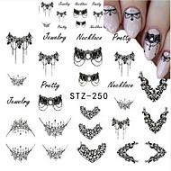 5pcs/set Nail Art tarra Veden siirto Decals meikki Kosmeettiset Nail Art Design