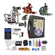 Полный комплект татуировки 1 х Стальная тату-машинка для контура и заливки 2 х сплава татуировки для облицовки и затенение 3татуировки