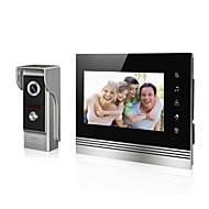 videofone vídeo em tela lcd campainha de 7 polegadas para intercome sistema de entrada de porta