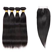 Az emberi haj sző Brazil haj Ravno 6 hónap 5 darab haj sző