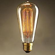 st64 E27 25w Edison art deco fény (220v)