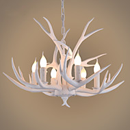 Függőlámpák ,  Régies (Vintage) Fa Funkció for LED Fa/ Bambusz Nappali szoba Hálószoba Étkező Dolgozószoba/Iroda Folyosó