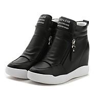 Damen-Sneaker-Outddor Büro Lässig-PU-Keilabsatz-Creepers-