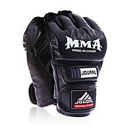 Boxhandschuhe Boxhandschuhe für das Training für Boxen Fingerlos Wasserdicht Stoßfest Schützend PUWulong