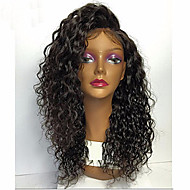 Premier Loose Curly Wave Lace Front Human Hair Wigs-Glueless 130% 150% 180% Density Brazilian Virgin Remy Wigs with Baby Hair