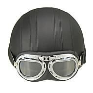 Каска Шлем с Googles АБС-пластик Каски для мотоциклов