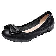 Damen Loafers & Slip-Ons Komfort Ballerina Leuchtende Sohlen Echtes Leder Leder Nappaleder Frühling Sommer Normal WalkingKomfort