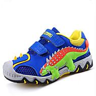 Jongens Sneakers Informeel Comfortabel Tule Zomer Herfst Causaal Sport Informeel Comfortabel Dierenprint Platte hakMarineblauw Marine