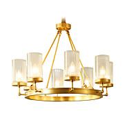 Todo o lustre de cobre jade decortiveliving room chandelier 88