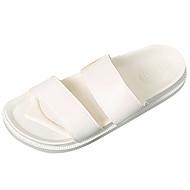 Αντρικό Παντόφλες & flip-flops Ανατομικό PU Καλοκαίρι Λευκό Επίπεδο