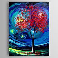 Pintados à mão Paisagem Vertical,Abstracto 1 Painel Tela Pintura a Óleo For Decoração para casa