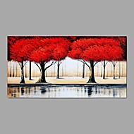 Pintados à mão Paisagem Horizontal,Abstracto 1 Painel Tela Pintura a Óleo For Decoração para casa