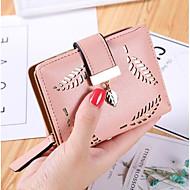 Žene novčani isječak pu sve godišnja doba casual kvadratni zatvarač crvenilo ružičasto azurno crno