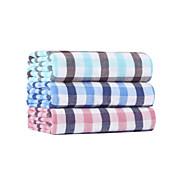 Waschtuch,Plaid/Karomuster Gute Qualität 100% Supima Baumwolle Handtuch