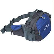 Unisex Taschen Ganzjährig Polyester Hüfttasche mit für Normal Blau