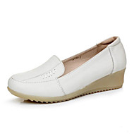 Dames Loafers & Slip-Ons Comfortabel PU Zomer Causaal Wit 2,5 - 4,5 cm