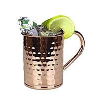 Trinkbecher, 400 Edelstahl Saft Cocktail Becher