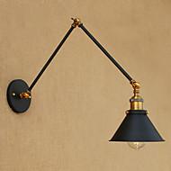AC 220-240 AC 110-120 4 E26/E27 Jednostavan LED Vintage Retro Zemlja Painting svojstvo for LED Uključuje li žarulju,Dolje zidna svjetiljka