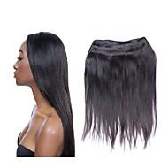 Hurtowy 10a brazilian prosty dziewiczy włosy wiązki 10pcs 1kg partia 100% jedwabisty włosy ludzki włosy naturalny koloru czarnego nie