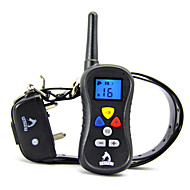 Pes Trénink Klikátka Elektronický výchovné pomůcky Voděodolný Anti Bark Dobíjecí LCD Vibrace