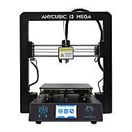 anycubic 3d printer i3 mega full metal frame colorido industrial grade alta precisão affordble venda quente