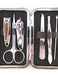 赤魚のパターン金属マニキュアキット(6個)