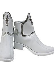 Asuna Yuuki cipő, fehér PU bőr, Sword Art Online képregény