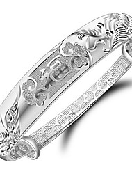 Women's Bangles Unique Design Fashion Costume Jewelry Sterling Silver Jewelry Jewelry For Wedding Party Daily Casual Christmas Gifts