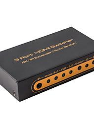 HDMI Switcher 2x1 3x1 4kx2k 60Hz ir Produžetak audio switch metal s daljinskim 1080p 3D 4K hdmi2.0